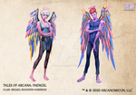 Tales of Arcana 5E Race Guide - Faengel