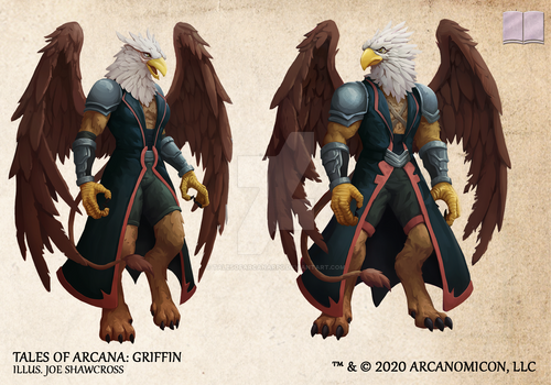 Tales of Arcana 5E Race Guide - Griffin