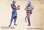 Tales of Arcana 5E Race Guide - Djinn