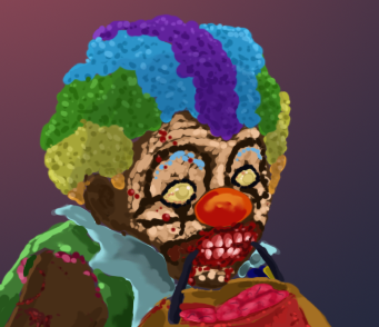 Clown Face by corvis9