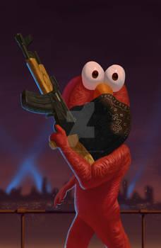 Elmo Thug Life