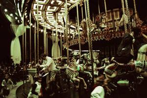 merry-go-round by elne