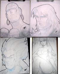 More convention sketches by E-V-IL