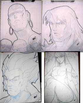 More convention sketches