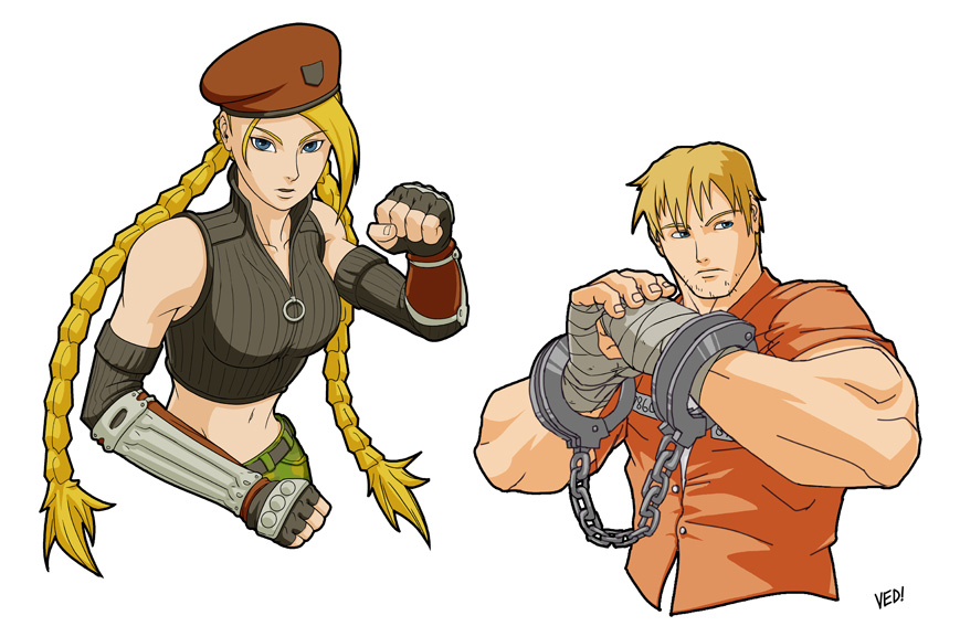Cammy and Cody by E-V-IL