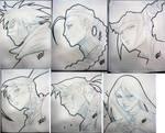 SDCC Head Sketches 3