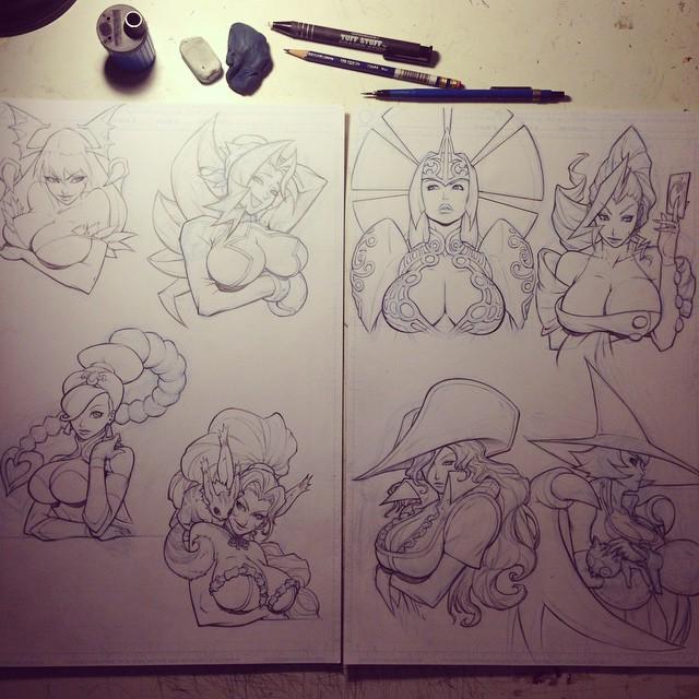 Capcom Ladies by E-V-IL
