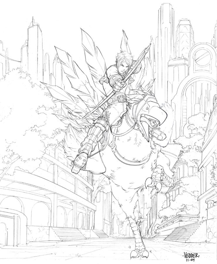 Final Fantasy XII Cover Art by E-V-IL on DeviantArt
