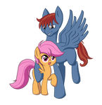 Scoot and Scootaloo