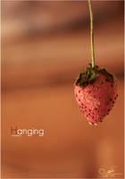 Hanging strawberry by YazeedART