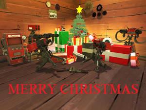 A sentry gun christmas
