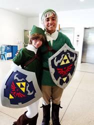 My Link Cosplay! (with SAYA-LOURA too)