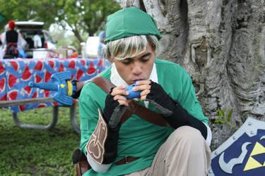 Link Cosplay - Mizucon Tea Party