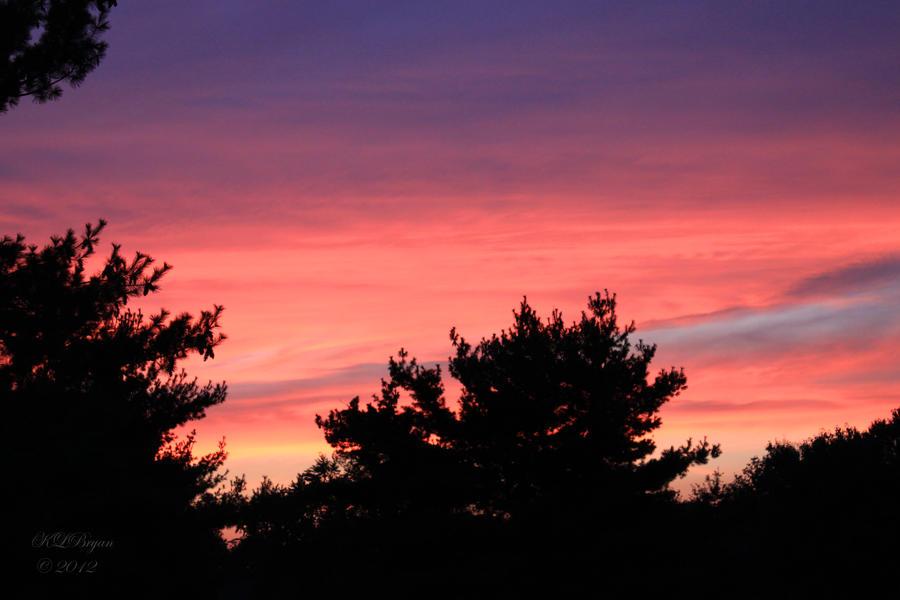 orange sunset by klbryanphotography
