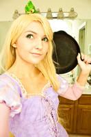My Rapunzel Cosplay Progress by ReneeRouge