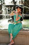 Princess Jasmine Custom Winter Cosplay by ReneeRouge