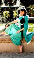 Princess Jasmine Winter Custom Cosplay 2013 by ReneeRouge