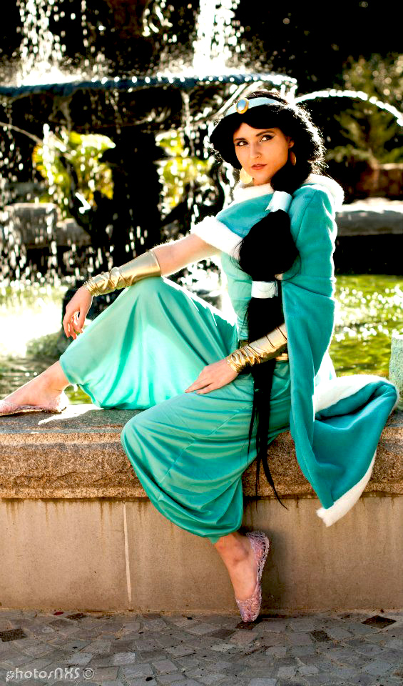 Princess Jasmine Winter Custom Cosplay 2013 by ReneeRouge