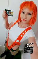 Leeloo Dallas Multipass Cosplay by ReneeRouge