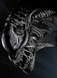 alien from the movie alien by shareck