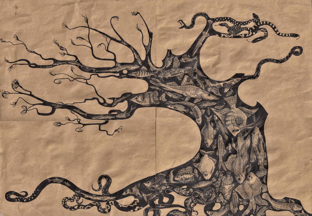 Tree of Everblack by TonadadelRio