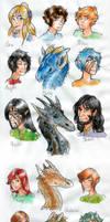 Trazelenia Characters