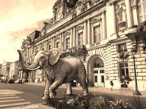 School ArtWork -Elephant