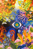School Art Work -Psychedelic- by MayVig