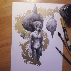InkTober Day 15 -Mysterious-