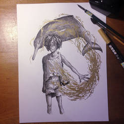 InkTober Day 18 -Filthy-