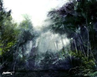 Sleeping Forest by VincentiusMatthew