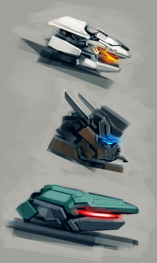 Mech Heads Creations by KM33