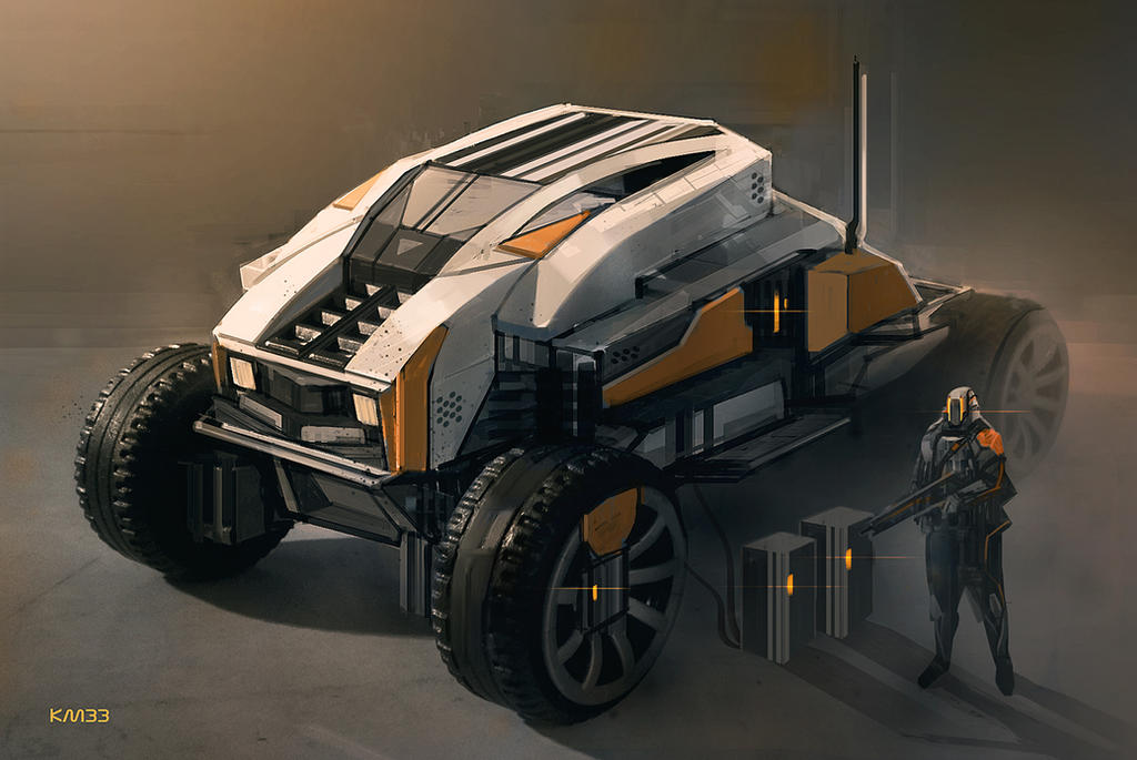 Vehicle concept by KM33