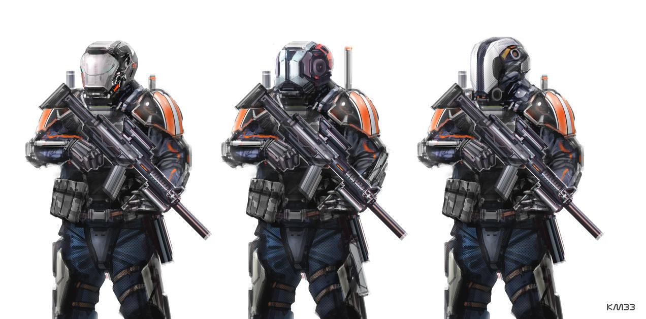 Enforcers by KM33