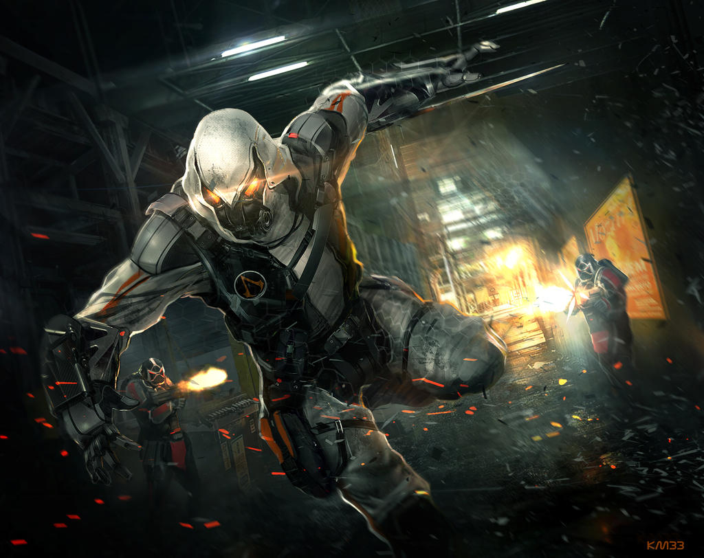Cyberpunk Assassin By Vincentiusmatthew On Deviantart