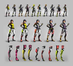 Freerunner Sketches and Developments