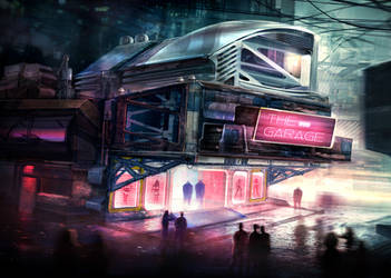 The Nightspot by VincentiusMatthew