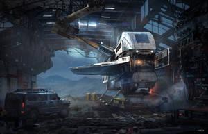 Hangar by VincentiusMatthew