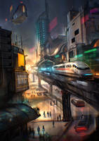 Jakarta Rapid Transit by VincentiusMatthew