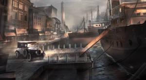 Old Harbour Concept by VincentiusMatthew