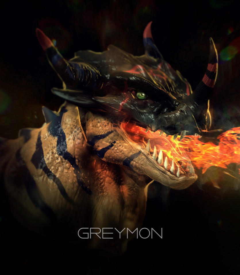 Greymon by KM33