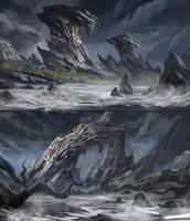 Creepy Island Concepts