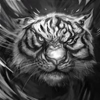Le Tigre by VincentiusMatthew
