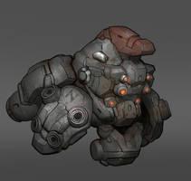 Brute Mech Concept by VincentiusMatthew