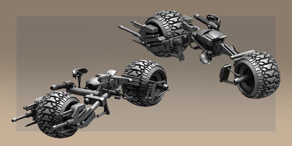 Desert Storm Batpod by TitikAwalCreative