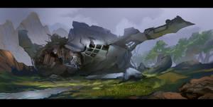 The Crash by VincentiusMatthew