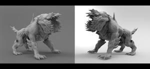 Commission: Hound Revenant