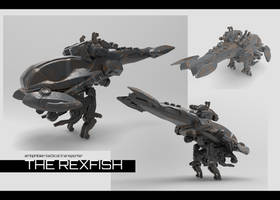 The Rexfish by VincentiusMatthew