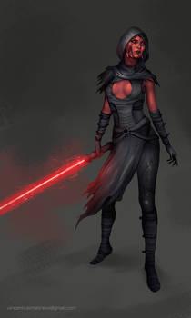 Commission: Sith Lady II