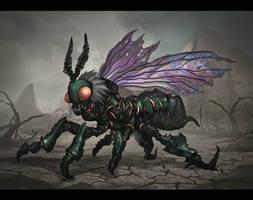 Commission: The Hivemind Bug Concept by VincentiusMatthew